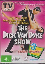 THE DICK VAN DYKE SHOW - DVD - 3 CLASSIC EPISODES - NEW