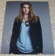 GENEVIEVE ANGELSON SIGNED BACKSTROM 8x10 PHOTO w/PROOF DET. NICOLE GRAVELY