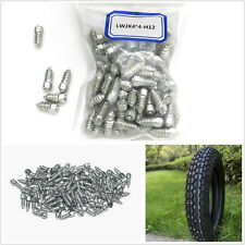 100 Pcs Metal 12mm Screw Tire Stud Car Truck ATV Tyres Snow Chains Studs Spikes