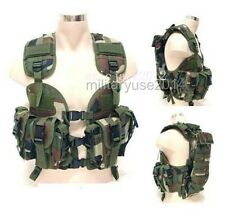 US Modular Load Assault Swat US Navy Seal Tactical Vest Woodland Forest
