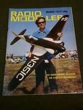 RADIO MODELLER - MARCH 1977 - SUPER TIGRE G60F1-ABC-PDP
