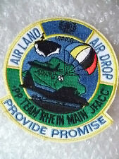Patches- Operation Provide Promise Patch, US Air Force NU Patches(New*,95x90 mm)