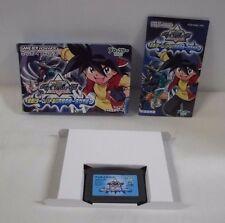 GBA -- Beyblade 2002 Takao -- Box. Can data save! Game Boy Advance, JAPAN. 38031
