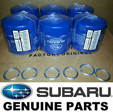 OEM Factory Subaru Engine Oil Filter & Crush Gasket (6 Pack) - 15208AA12A