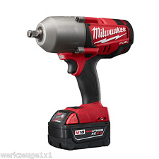 Milwaukee CARBURANTE avvitatore batteria M18 CHIWF12/5.0 Ah con 950 Nm 1/2""