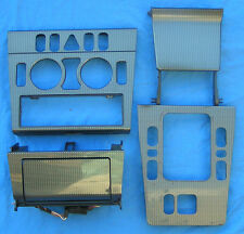 1998-2000 MERCEDES W202 C280 C230 SPORT CARBON FIBER CONSOLE TRIM SURROUND LOT