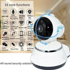 HD 720p Wireless Pan Tilt IP WiFi Camera Security CCTV Network IR Night Vision