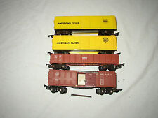 AMERICAN FLYER  FREIGHT CARS # 639,641,633 LOT #B-39
