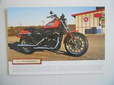 TWO(2) Harley Davidson XL883R SPORTSTER Brochures/Product Sheets