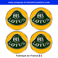 sticker Lotus 01 pour cache moyeu de jante (lot de 4)