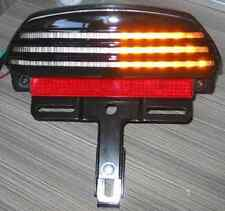 HARLEY TRI BAR LED TAIL LIGHT/INDICATORS for DYNA FAT BOB
