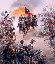 KUNSTLER Robert E Lee Chancellorsville HIS SUPREME MOMENT & 4 Bonus Prints LOOK