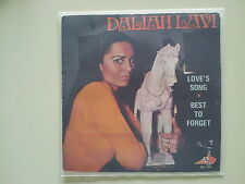 Daliah Lavi - Love's song 7'' Single SUNG IN ENGLISH French Pressing