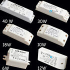 12V 6W 10W 12W 18W 30W 40W LED MR11 MR16 Light Driver Power Supply Transformer