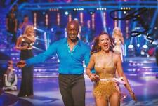 STRICTLY COME DANCING: ANYA GARNIS SIGNED 6x4 ACTION PHOTO+COA