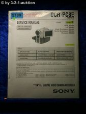 Sony Service Manual DCR PC8E Level 2 Digital Video Camera (#5789)