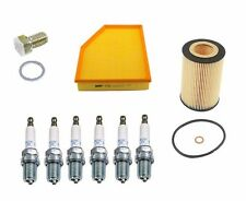 NEW BMW E60 530i 04-05 Tune Up Kit Air Filter Oil Filter Spark Plugs Drain Plug