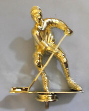 "lot of 10 male hockey trophy parts JDS RP80116 large 6"" tall"