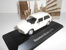 VOLKSWAGEN BRASILIA 1974 AUTOS MEMORABLES MEXICO DEAGOSTINI IXO 1:43