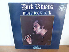 "LP 12"" DICK RIVERS STORY - More 100% rock - NM/NM - MFP - 2M046-13192 - BELGIUM"