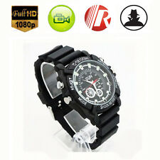 Waterproof 32GB HD 1080P Hidden Spy Watch Video Recorder Camera Night Vision DVR