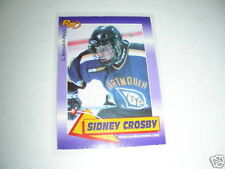 Sidney Crosby 2003 Rookie Review purple #56; first card