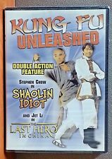 Kung Fu Unleashed: Double Action Feature   DVD   BRAND NEW