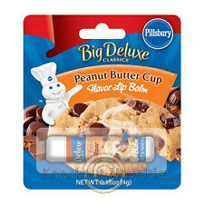 Pillsbury Ready To Bake Peanut Butter Cup Cookie Lip Balm Gloss Lips Flavor Gift