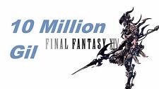 GIL 10 Million Final Fantasy XIV [Excalibur / Brynhildr / Behemoth /Diab ] FFXIV
