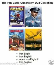 THE IRON EAGLE QUADRILOGY ALL 4 MOVIE FILMS DVD PART 1 2 3 4 Lou Gossett Sealed