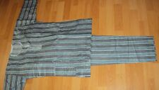 Boy's African / Nigerian Traditional Shirt & Trousers in Black & Grey Age 11-12