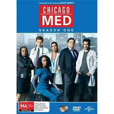 CHICAGO MED-Season 1-Region 4-New AND Sealed-5 Disc Set-TV Series