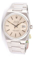 MENS S/S ROLEX OYSTERQUARTZ DATEJUST 35MM WRIST WATCH NO RESERVE