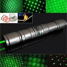 High Power Focus Green Laser Pointer Pen Beam Light 5mw Burning 532nm 5MW