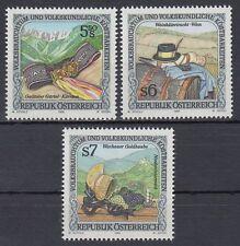 Österreich Austria 1995 ** Mi.2149/51 Brauchtum Traditions Goldhaube