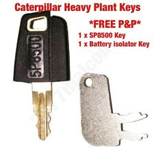 CATERPILLAR KEY SET 1X SP8500 / 1X ISOLATOR KEY