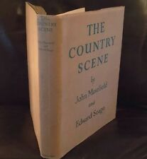 The Country Scene: First Edition 1937 John Masefield: Edward Seago Rare D/J!