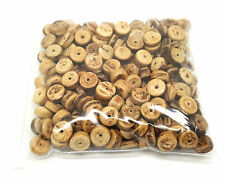 Environ 200 x 8mm naturel noix de coco bois blotter loose beads
