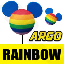 DISNEY MICKEY MOUSE RAINBOW BEE STING AERIAL ANTENNA TOPPER BALL TOY CAR GAY PEN