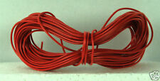 Model Railway/Railroad Layout/Point Motor etc Wire 1 x 10m Roll 7/0.2mm 1.4A Red