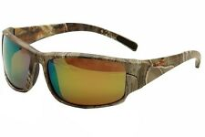 Bolle Keelback 12040 Real Tree/Orange Xtra Polarized Fashion Wrap Sunglasses