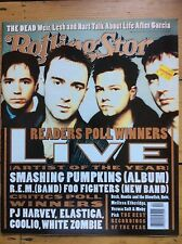 Rolling Stone 726 Live cover, Grateful Dead, Elastica, Poll Results