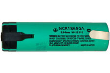 3.7 Volt Panasonic 18650 Lithium Ion Battery with Tabs (3100 mAh)