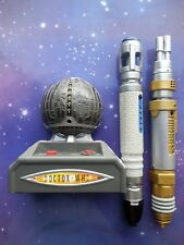 DOCTOR WHO INTERACTIVE SONIC LASER SCREWDRIVER BATTLE GAME 10TH DR & THE MASTER