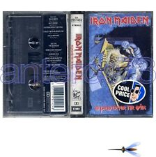 "IRON MAIDEN ""NO PRAYER FOR THE DYING"" K7 ITALY - SEALED"