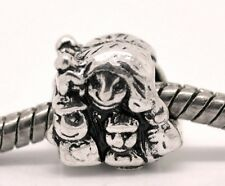 Mother Children Kids Family Single Mom Bead for Silver European Charm Bracelets