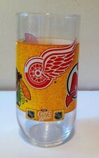 KRAFT CHEEZ WHIZ NHL GLASS #3 OF 6 OTTAWA CHICAGO DETROIT NEW JERSEY BUFFALO