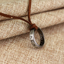 Cosplay Game Uncharted 4 Drake's Ring Pendant Necklace Chain Cool Collect Gift