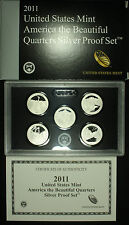 United States Mint, America The Beautiful Quarters Silver Proof Set 2011 S.
