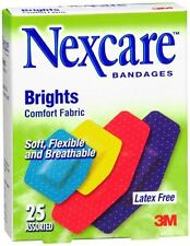Nexcare Brights Comfort Fabric Bandages Assorted 25 Each